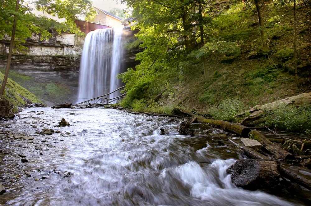 View Of Decew Falls