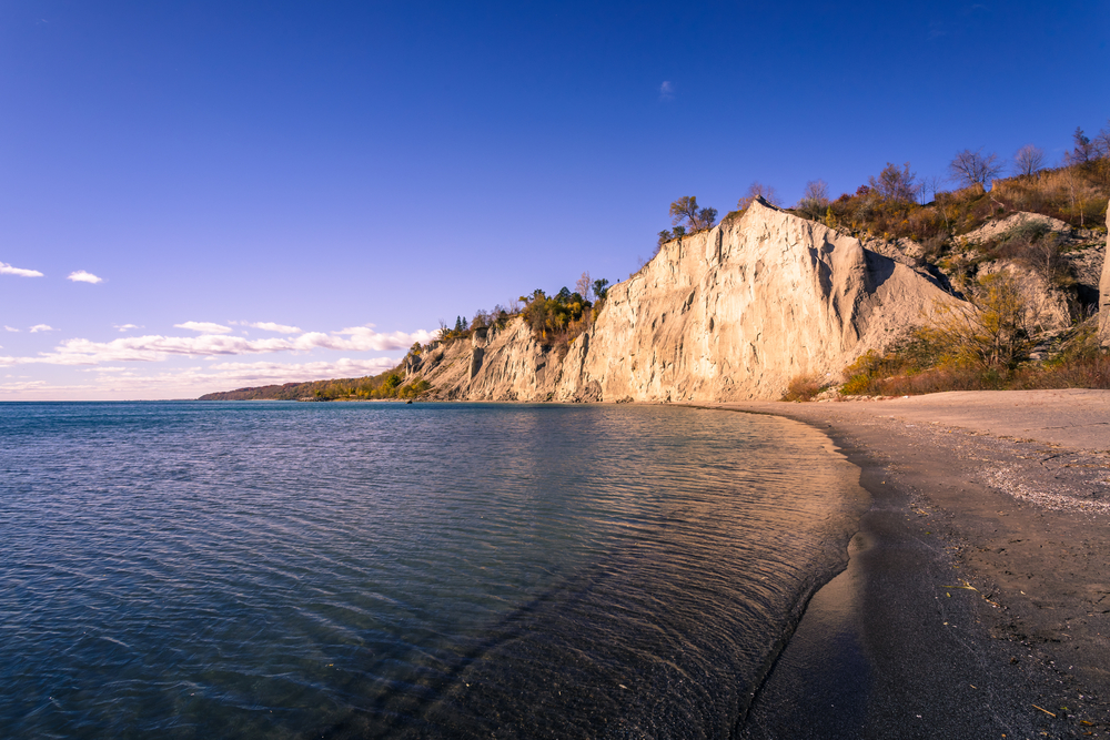 View Of Scarborough Bluffs