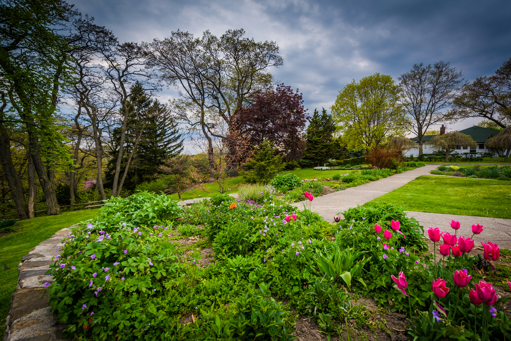 View Of Beautiful Garden At High Park